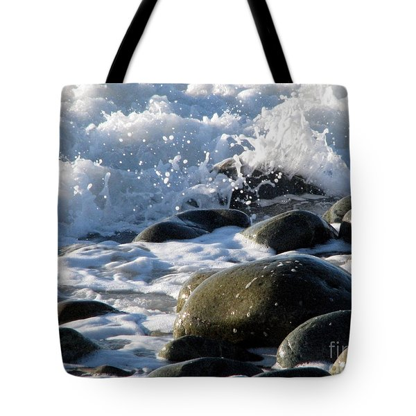 Two Elements Tote Bag by Jola Martysz