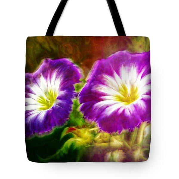 Two Eyes Of Heaven Tote Bag by Lilia D