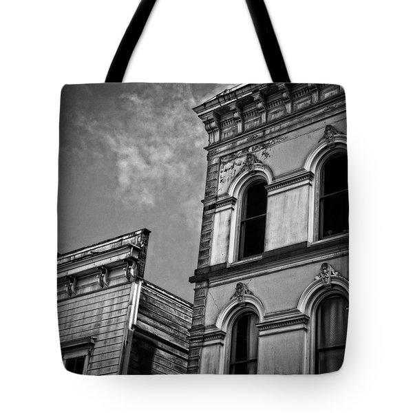 Two Facades Tote Bag by Mark Alder