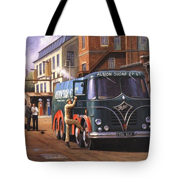 Two Fodens Tote Bag by Mike  Jeffries