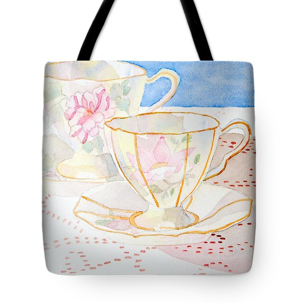 Two For Tea Tote Bag