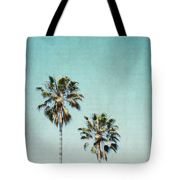 Tote Bag featuring the photograph Two For The Sun - Square by Lisa Parrish