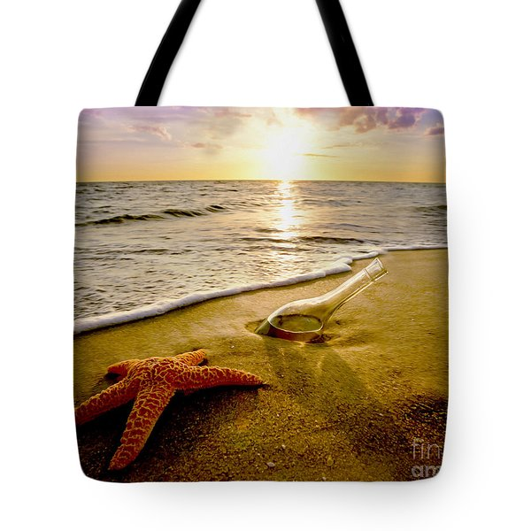 Two Friends On The Beach Tote Bag
