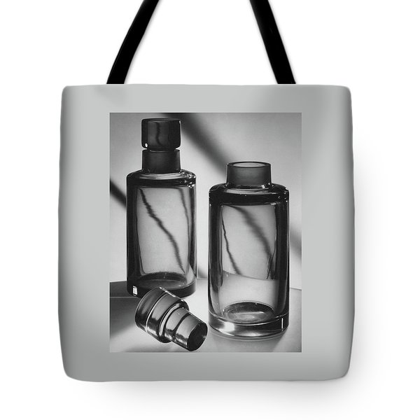 Two Glass Decanters Tote Bag