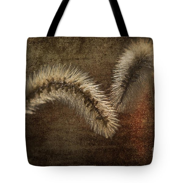 Two Grass Flowers Tote Bag by Heiko Koehrer-Wagner