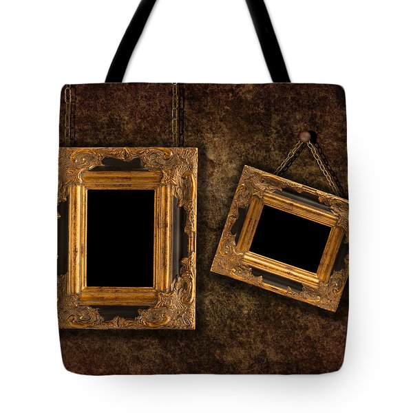Two Hanging Frames Tote Bag by Amanda Elwell