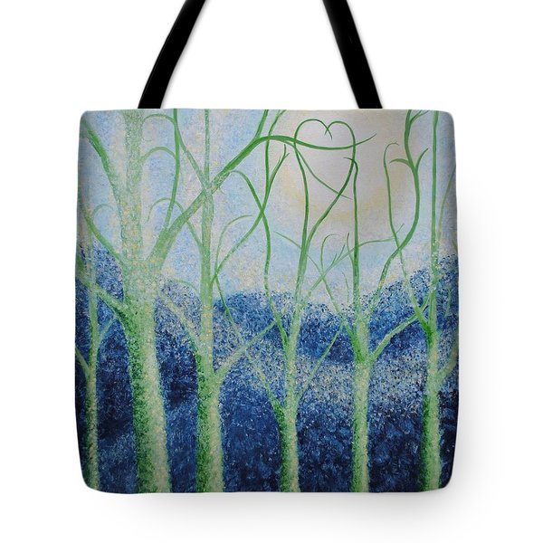Two Hearts Tote Bag by Holly Carmichael