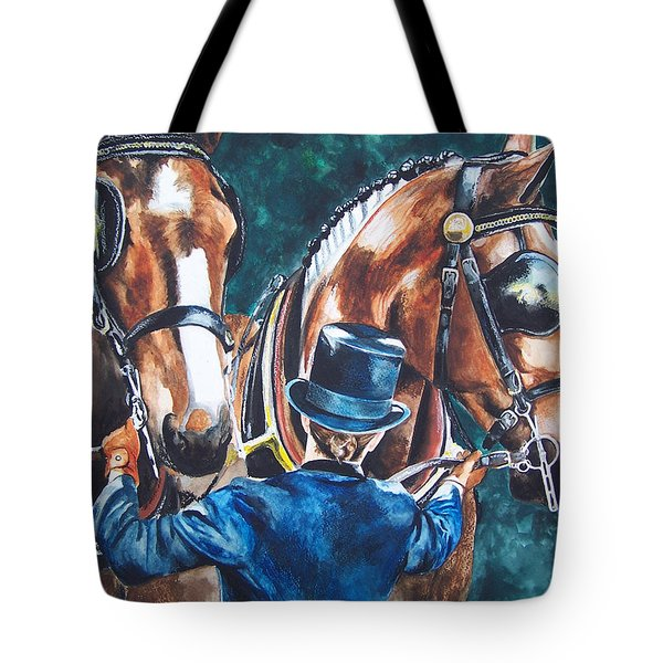 Two In Hand Tote Bag