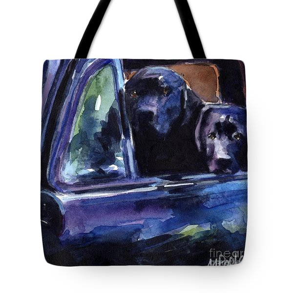 Two Into Fifty One Tote Bag by Molly Poole