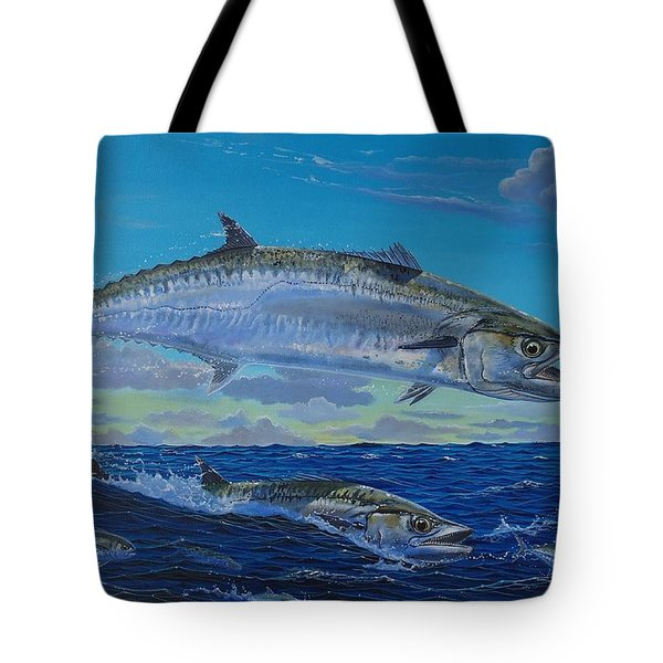 Two Kings Tote Bag by Carey Chen