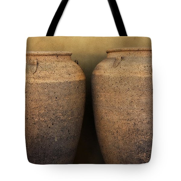 Two Large Garden Urns Tote Bag