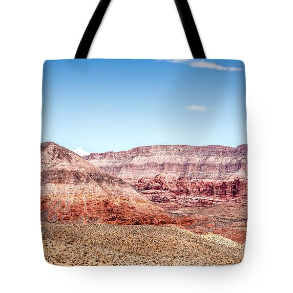 Two Layered Mountains Tote Bag