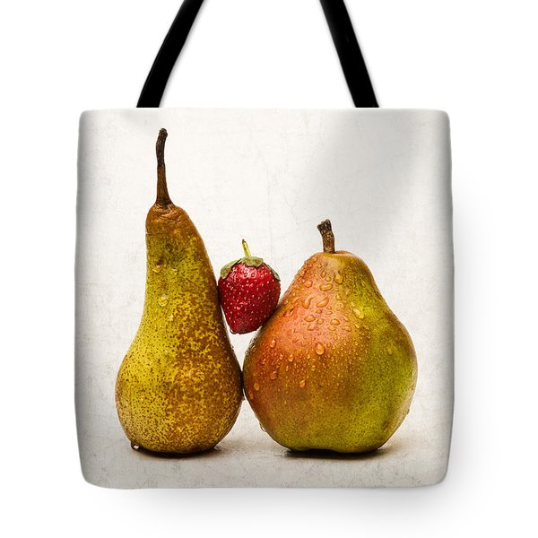 Two Lives One Heart Tote Bag by Alexander Senin
