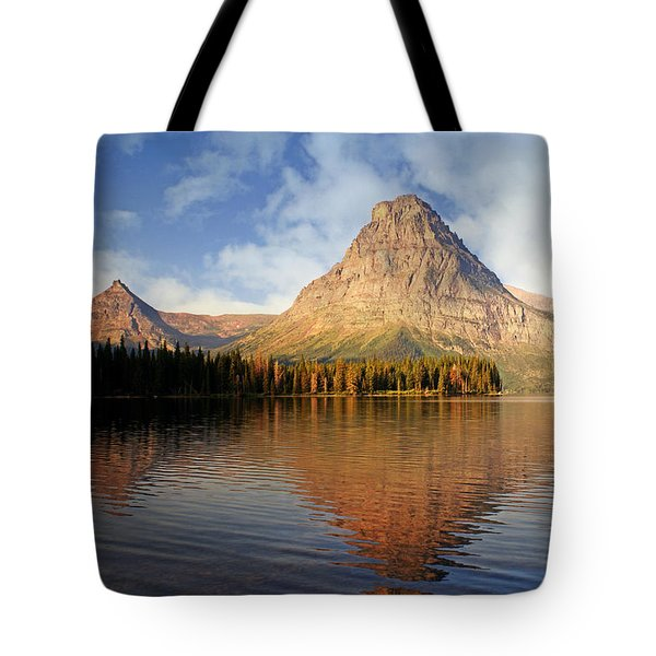 Tote Bag featuring the photograph Two Medicine by Marty Koch