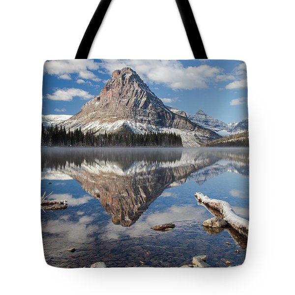 Tote Bag featuring the photograph Two Medicine Morning by Jack Bell