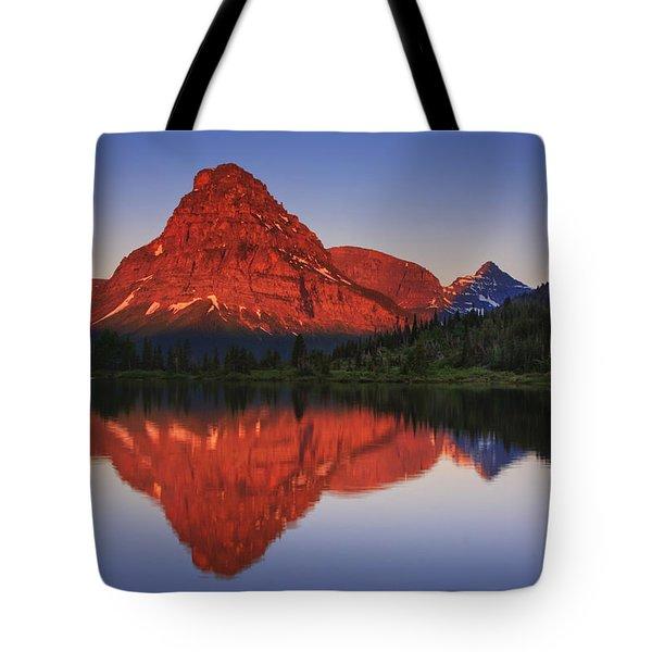 Two Medicine Sunrise Tote Bag