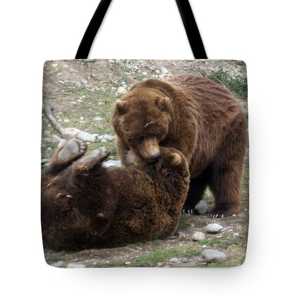 Tote Bag featuring the photograph Two Of A Kind by Amanda Eberly-Kudamik