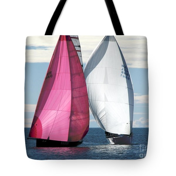 Two Of Us Tote Bag by Jola Martysz