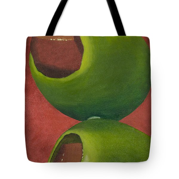 Two Olives In Search Of A Bloody Mary Tote Bag
