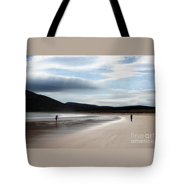 Two On A Beach Tote Bag