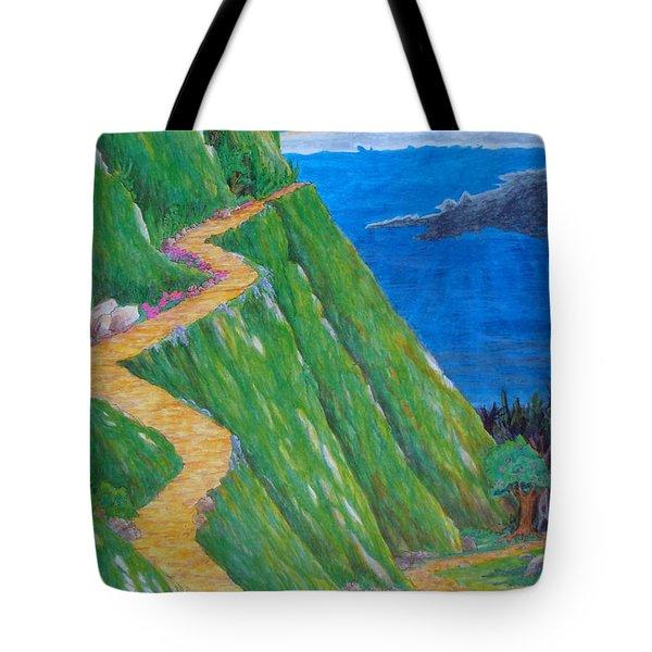 Two Paths Tote Bag by Matt Konar