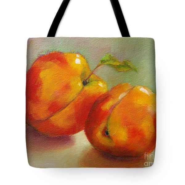 Two Peaches Tote Bag