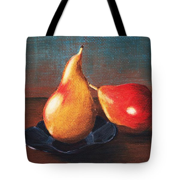 Two Pears Tote Bag by Anastasiya Malakhova