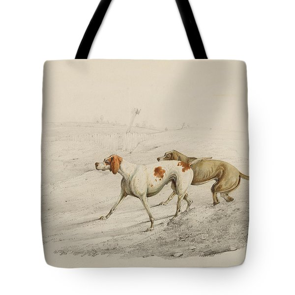 Two Pointers Tote Bag by Henry Thomas Alken