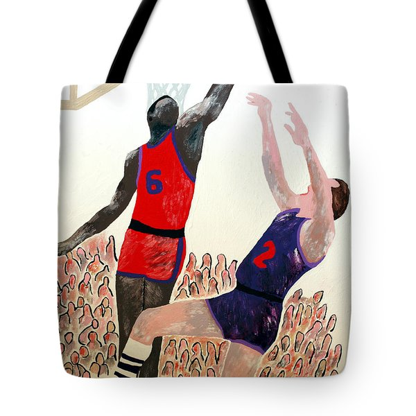 Two Points Tote Bag by Andrew Petras