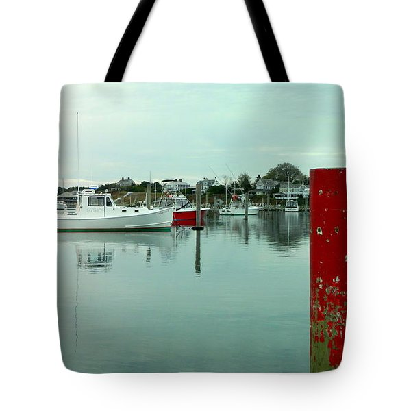 Two Poles Tote Bag by Kathy Barney