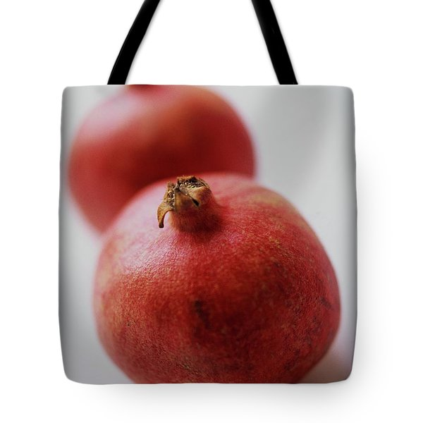 Two Pomegranates Tote Bag