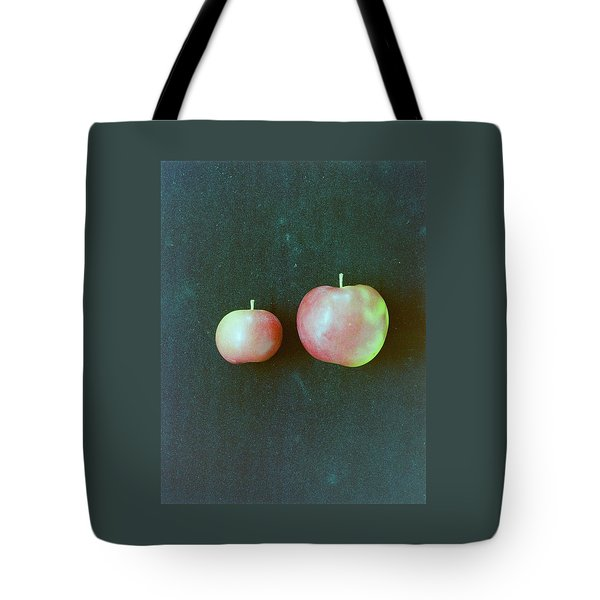 Two Red Apples Tote Bag