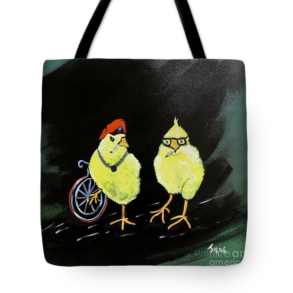 Two Smokin Hot Chicks Tote Bag