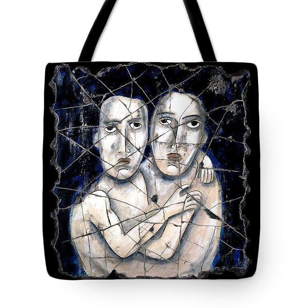 Two Souls Tote Bag by Steve Bogdanoff