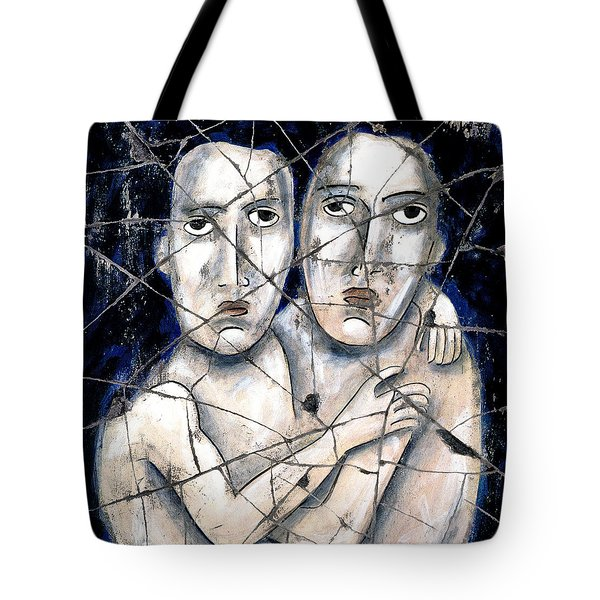 Two Souls - Study No. 2 Tote Bag by Steve Bogdanoff