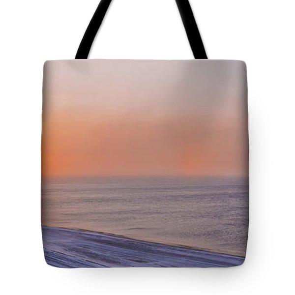 Two Sundogs Hang In The Air Over The Tote Bag by Kevin Smith