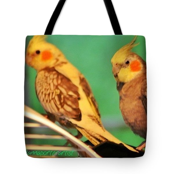 Two Tiels Chillin Tote Bag