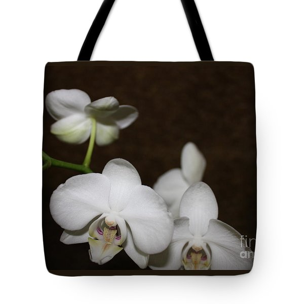 Two To Bloom Tote Bag by Cathy Dee Janes