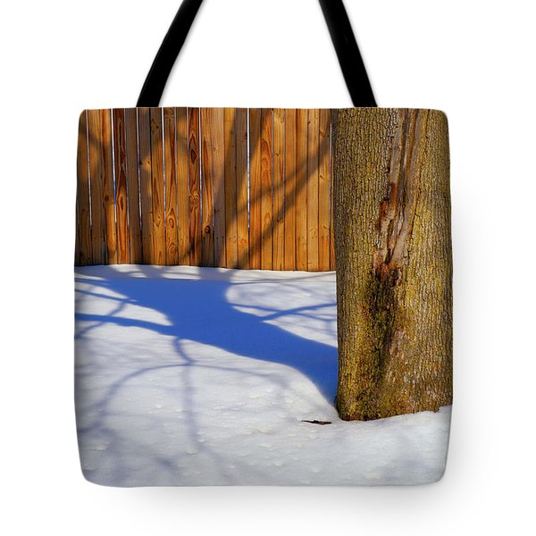 Two Trees In One Tote Bag by Paul W Faust -  Impressions of Light