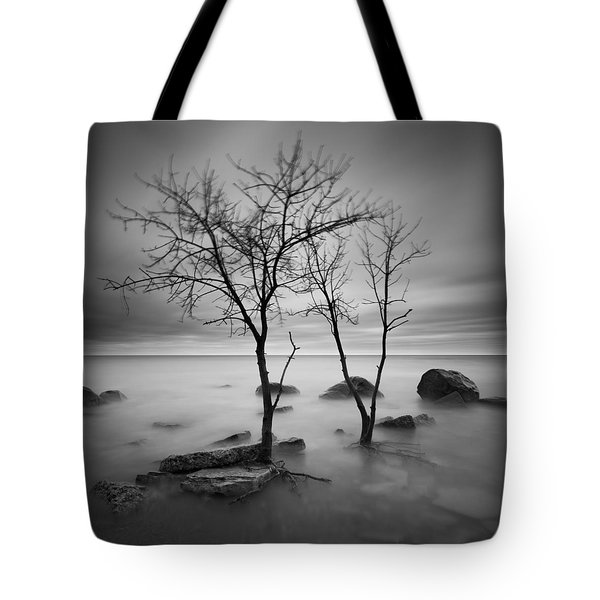 Two Trees Walking Tote Bag