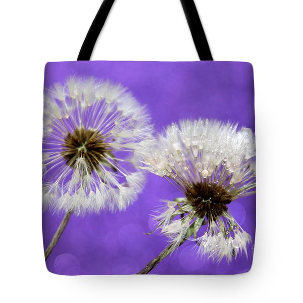 Two Wishes Tote Bag by Krissy Katsimbras