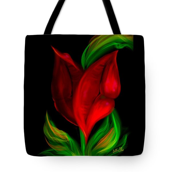 Twolips Tote Bag by Billie Jo Ellis