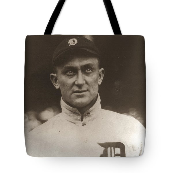 Ty Cobb 1915 Tote Bag by Unknown