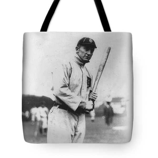 Ty Cobb Tote Bag by Unknown