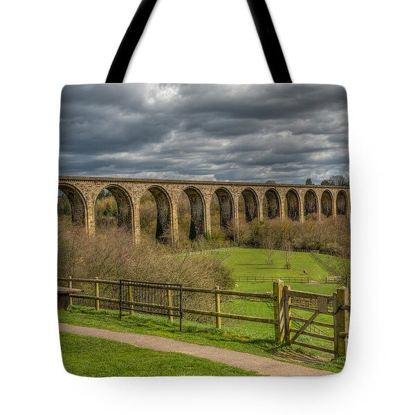 Ty Mawr Country Park Tote Bag by Adrian Evans