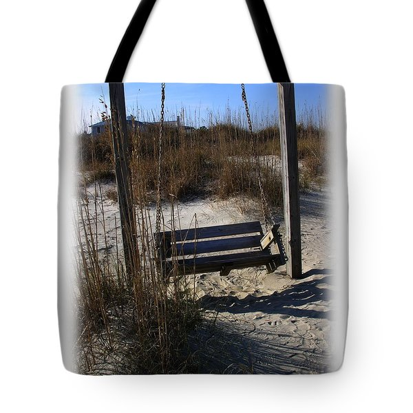Tote Bag featuring the photograph Tybee Island Georgia by Jacqueline M Lewis