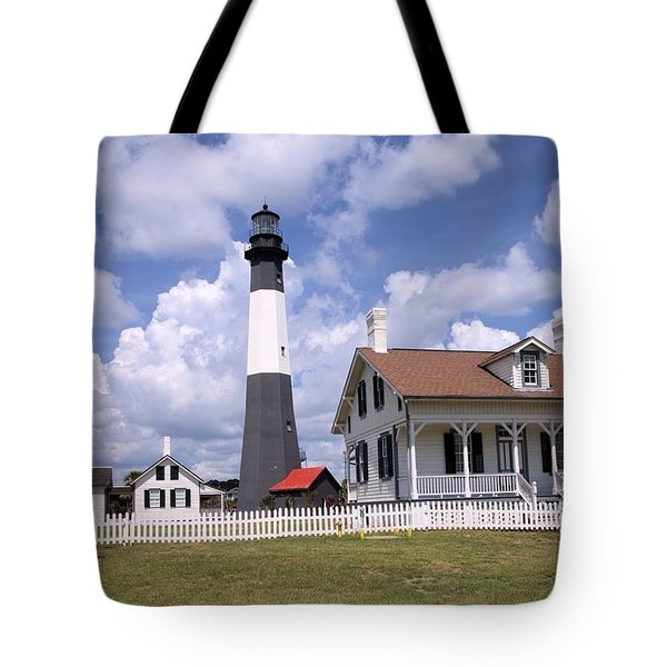 Tybee Island Light Tote Bag
