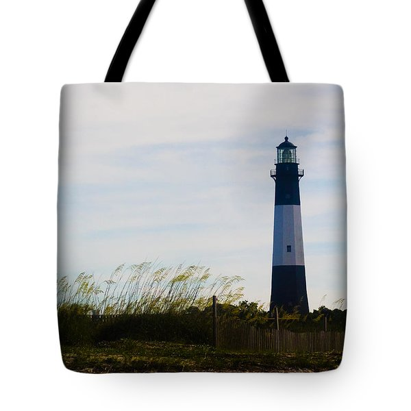 Tybee Island Lighthouse Tote Bag