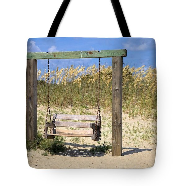 Tybee Island Swing Tote Bag by Gordon Elwell