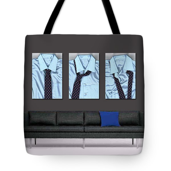 Tying One On - Men's Tie Art By Sharon Cummings Tote Bag